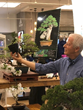 Bonsai experts from Oakland's Bonsai Garden at Lake Merritt led sessions sponsored by Suzhou Tourism at the Macy's Flower Show.