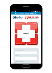 BluSky First Aid Disaster Response Software