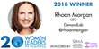Rhoan Morgan of DemandLab Becomes Four-Time Winner of SLMA's 20 Women to Watch Program