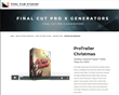 Pixel Film Studios Unveils ProTrailer Christmas for Final Cut Pro X.