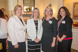 The Apex Learning team with Florida Education Commissioner Pam Stewart at the recent Argus Foundation Luncheon.