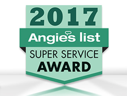 Angie's List Super Service Award 2017 for Sir Grout Northern New Jersey