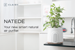 Introducing NATEDE, The IOT-Ready Natural Air Purifier That Combines Technology and Design with The Power of Plants to Remove Pollutants and Toxins from Indoor Air