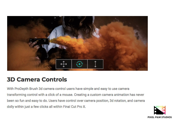 Pixel Film Studios Unveils ProDepth Brush for Final Cut Pro X