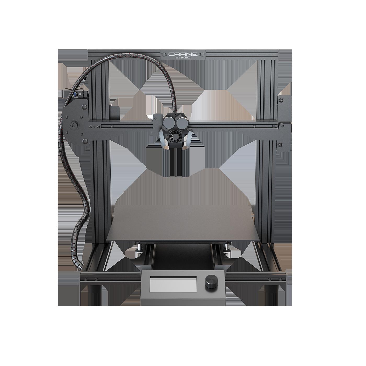 M3D Launches Crane Quad 3D Printer, The World's First Full