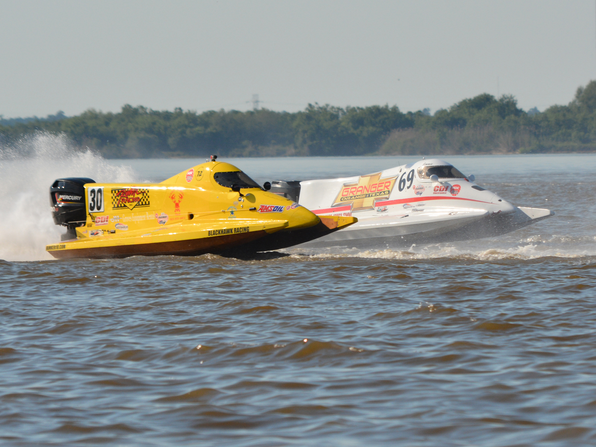2018 NGK F1 Powerboat Championship 1st Race at the Port Neches