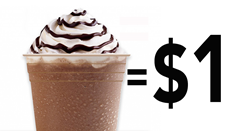 Enjoy $1 Espresso-based drinks at the Crimson Cup Coffee House in Tallmadge, Ohio on Tuesday, May 1