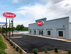 The Larson Group plans to further improve its award-winning Peterbilt customer service by adding a fully staffed parts call room and driver's lounge to the new facility, opening May 7.