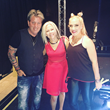 Joe and Angie Finley, The Swansons performed opening set for Terri Nunn of Berlin at The Rose Theatre in Pasadena CA