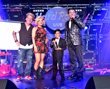 "The Swansons, Alternative Country Rock Pop band receives Country Album of the Year Award for ""Country This"" during the Producers Choice Honors 2018 Las Vegas F.A.M.E. Awards"
