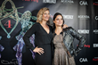 Zoe Bell and Michell Rodriguez  arrive at the Artemis Awards Gala 2018
