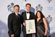 HRH Prince Emanuele Filiberto of Savoy Receives City of Los Angeles Certificate of Friendship from Councilman Joseph Buscaino and Mrs. Jay Buscaino