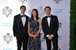Pierce McClory and June Su-McClory with HRH Prince Emanuele Filberto of Savoy