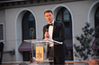 Guest of Honor HRH Prince Emanuele Filiberto of Savoy Addresses Guests at the Notte di Savoia Gala Dinner Benefiting Stuart House, on the Terrace of the Beverly Hills Montage Resort