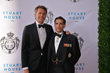HRH Prince Emanuele Filiberto of Savoy  with Carl J. Morelli, Esq., Savoy Foundation Chairman of the Board and Delegate of the American Delegation of Savoy Orders