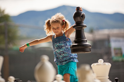 Smugglers' Notch Resort offers life-sized games such as chess, for children to play and help develop their problem solving and critical thinking skills.