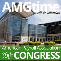 AMGtime Exhibit Time, Attendance, and Scheduling Solutions at the 36th Annual APA Congress