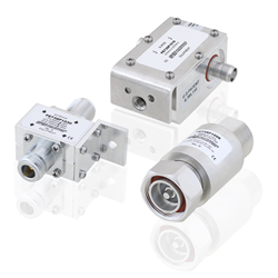 Coaxial RF Lightning and Surge Protectors