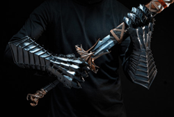lotr lord of the rings sword gauntlets