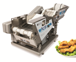 The new Automatic Coating System from Bettcher Industries delivers consistent high-quality food products compared to hand-breading and frozen pre-breaded menu items.
