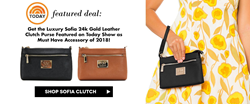 Robert Matthew Fashion's Sofia Clutch Purse Featured on the Today Show