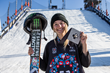 Monster Energy's Giulia Tanno Stomps Her Way to Silver in Women's Ski Big Air Finals at X Games Norway 2018