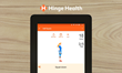 Exercise Therapy on Hinge Health Tablet App