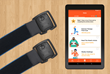 Reduce Chronic Knee Pain with Hinge Health Tablet App and Wearable Motion Knee Sensors