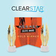 "ClearStar's ""We Work"" Marketing Campaign Earns Two Gold Hermes Creative Awards"