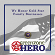 GreenZone Hero Gold Star Family Business Campaign