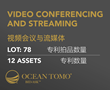 Video Conferencing and Streaming Patents Available for Auction on the Ocean Tomo Bid-Ask™ Market