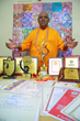 Parijoy Saha with his world record certificates and awards.