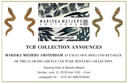 TCH Collection Couture Jewelry Announces   Mariska Meijers Amsterdam is Exclusive Holland Retailer
