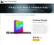 Pixel Film Studios Unveils ProDrop Simple for Final Cut Pro X.