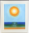 Joseph Stella Haitian Sunrise Oil on Masonite