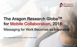 aragon research mobile collaboration globe