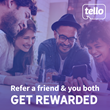 Tello Rolls Out a New Referral Program