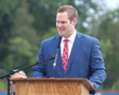 Jon Copper, an alumnus of Fork Union and UVa football, delivered the commencement address.