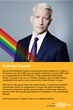 American International College will  celebrate leaders in the LGBT movement, Anderson Cooper among them, every day throughout the month of June on the College's social media platforms.