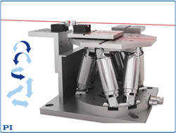 PI's Compact Hexapod for Automatic Alignment Tasks