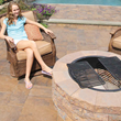 Nicolock Serafina fire pit kit