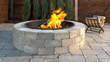 Unilock Round Sunset fire pit jit