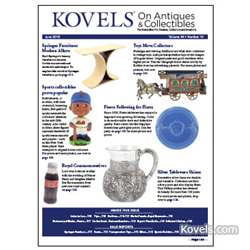 kovels, prices, antiques, collectibles, karl springer, trolley, fiesta, bobbleheads, nodders, sterling silver