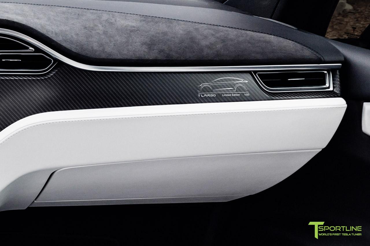 Tesla Carbon Fiber Interior