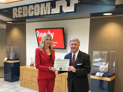 REDCOM Business of the Month Award