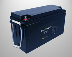altE introduces its new line of lithium solar battery, the KiloVault