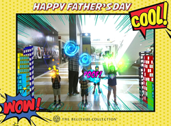 Digital-AR-Father's-Day-Card