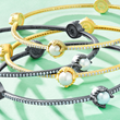 Freida Rothman Textured Pearl Bracelet
