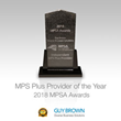 Guy Brown Wins MPSA Independent Plus Provider 2018
