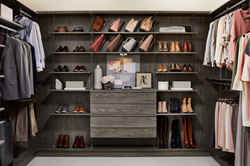 Inspired Closets Contemporary Closet System